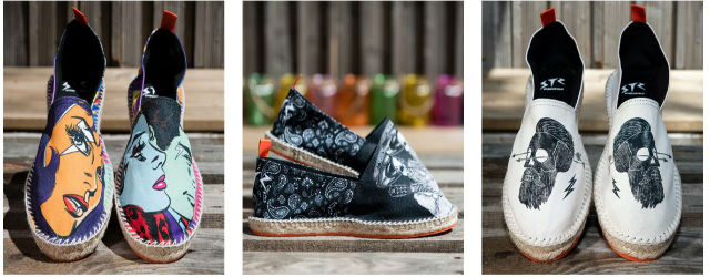 industrie mode, espadrilles