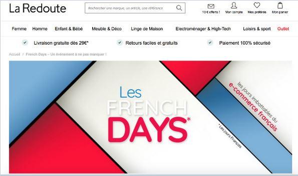 Promo La Redoute